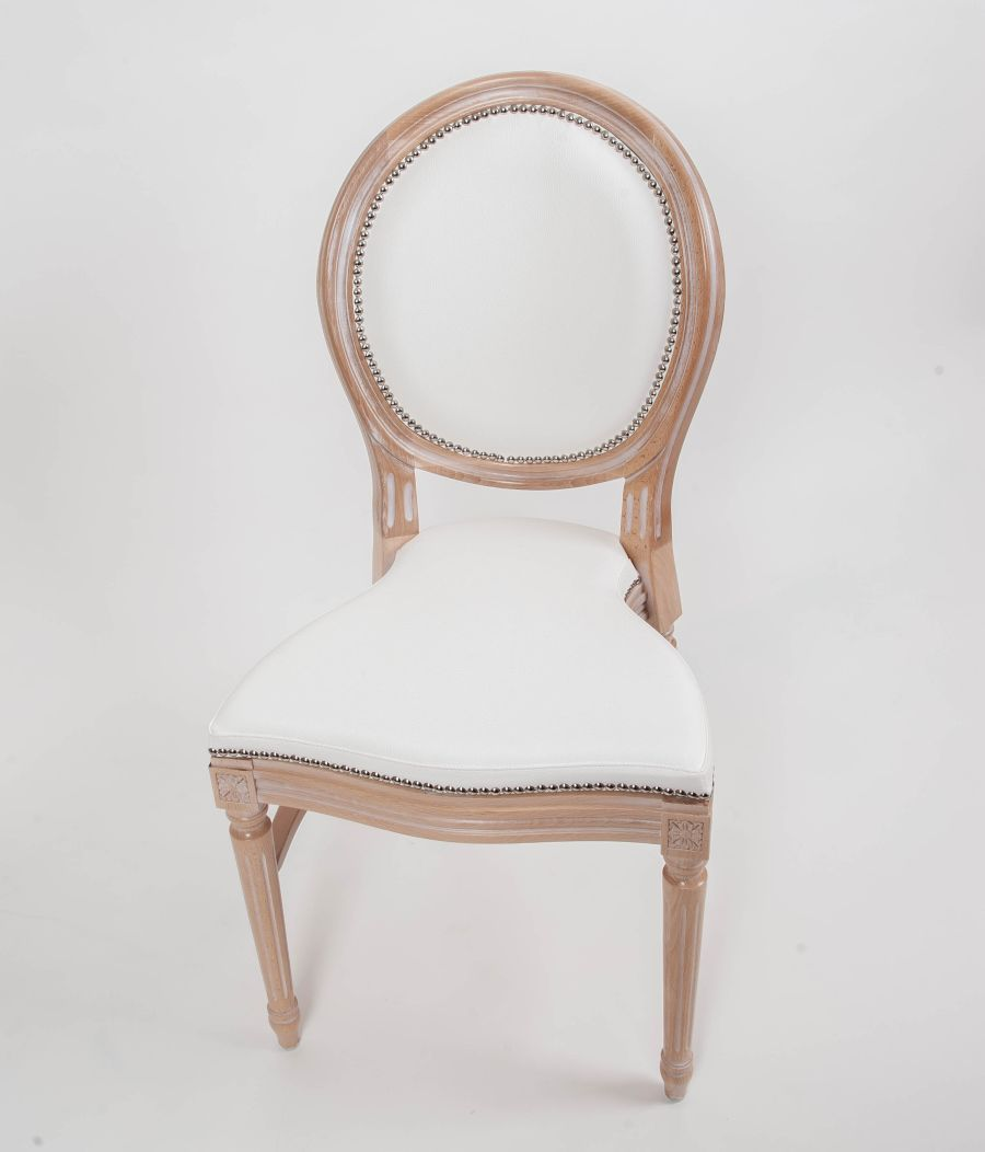 Louis Chair Hire Elegant curves and finish