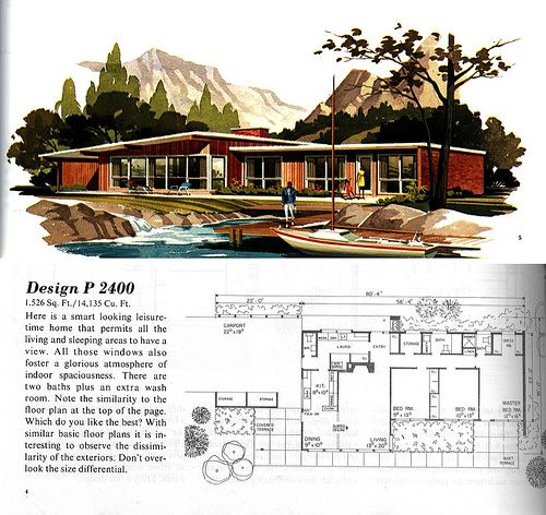Mid Century Modern Floor Plans House Plans And Home Designs FREE