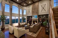 Toll Brothers 2-Story Family Room | New House? | Pinterest ...