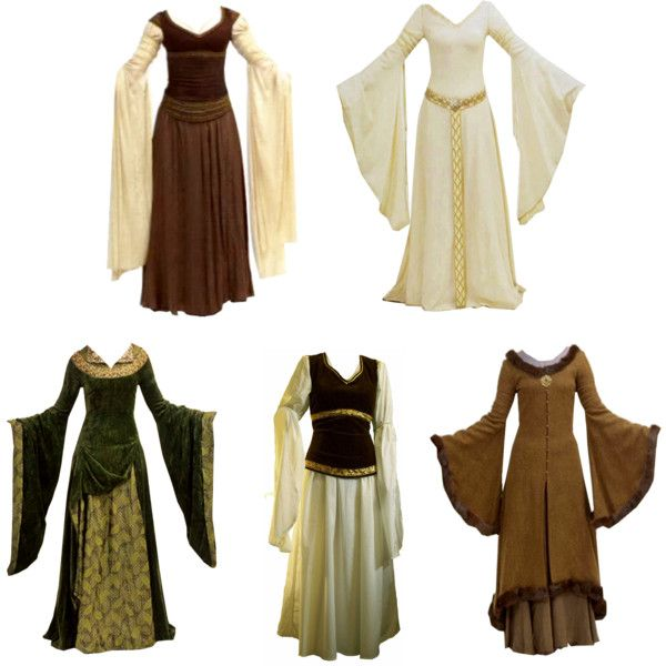 Medieval Gown Sewing Patterns