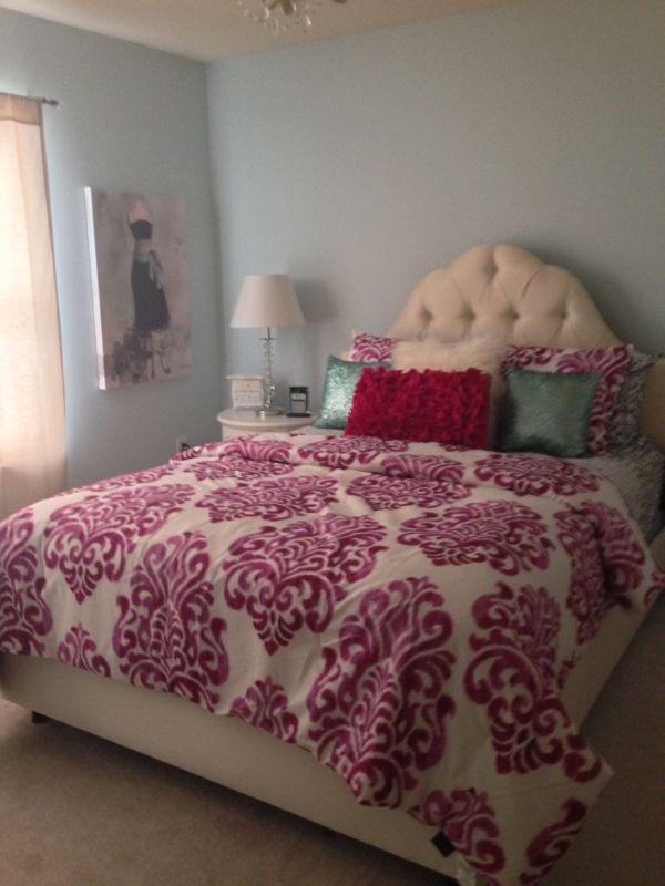 Upholstered Headboards Girls' Bedroom