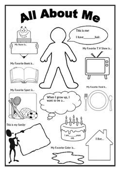 This is an awesome worksheet as a 'getting to know you