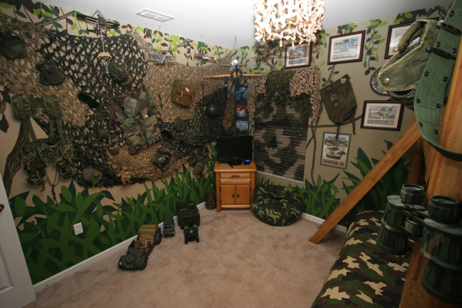 Captivating 1000 Images About Army Bedroom On Pinterest For Kids Wallpaper Camo Bedroom  Wallpaper Bedroom Style.