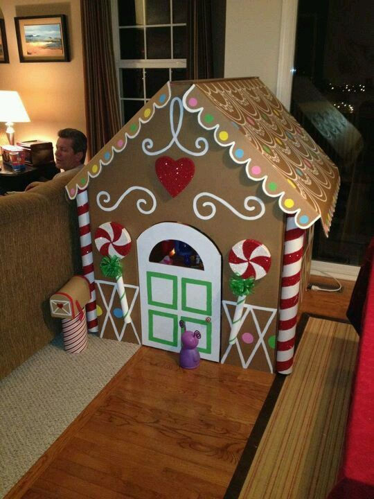 Ginger Bread House This Can Be Done W Duct Tape Or Riveting