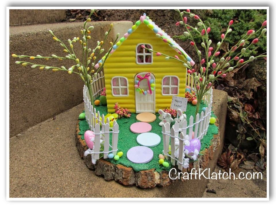 Easter Easter Bunny Easter Bunny House Craft Crafts Crafting