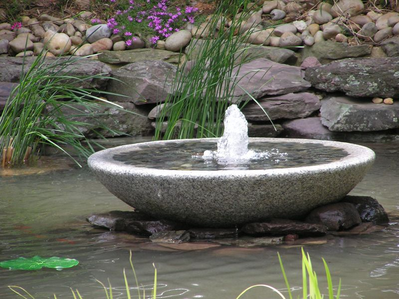 bowl water features