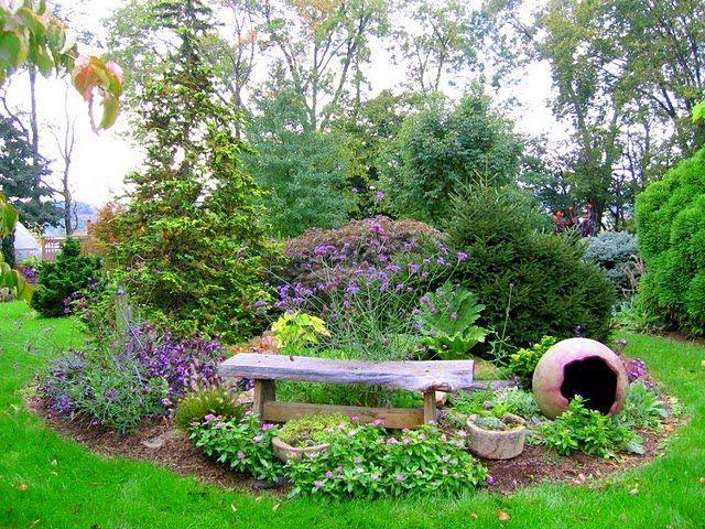 Small Flower Gardens For Beginners Perennial Flower Gardening