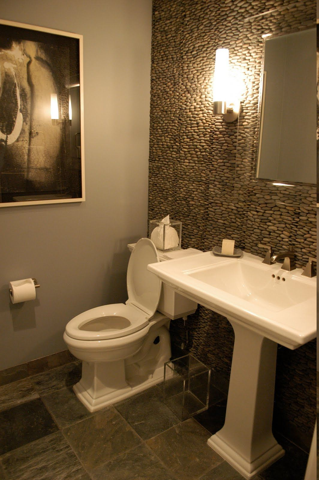 Powder room decorating ideas become very interesting idea for you to apply in your home also rh pinterest