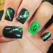 foxy nail art