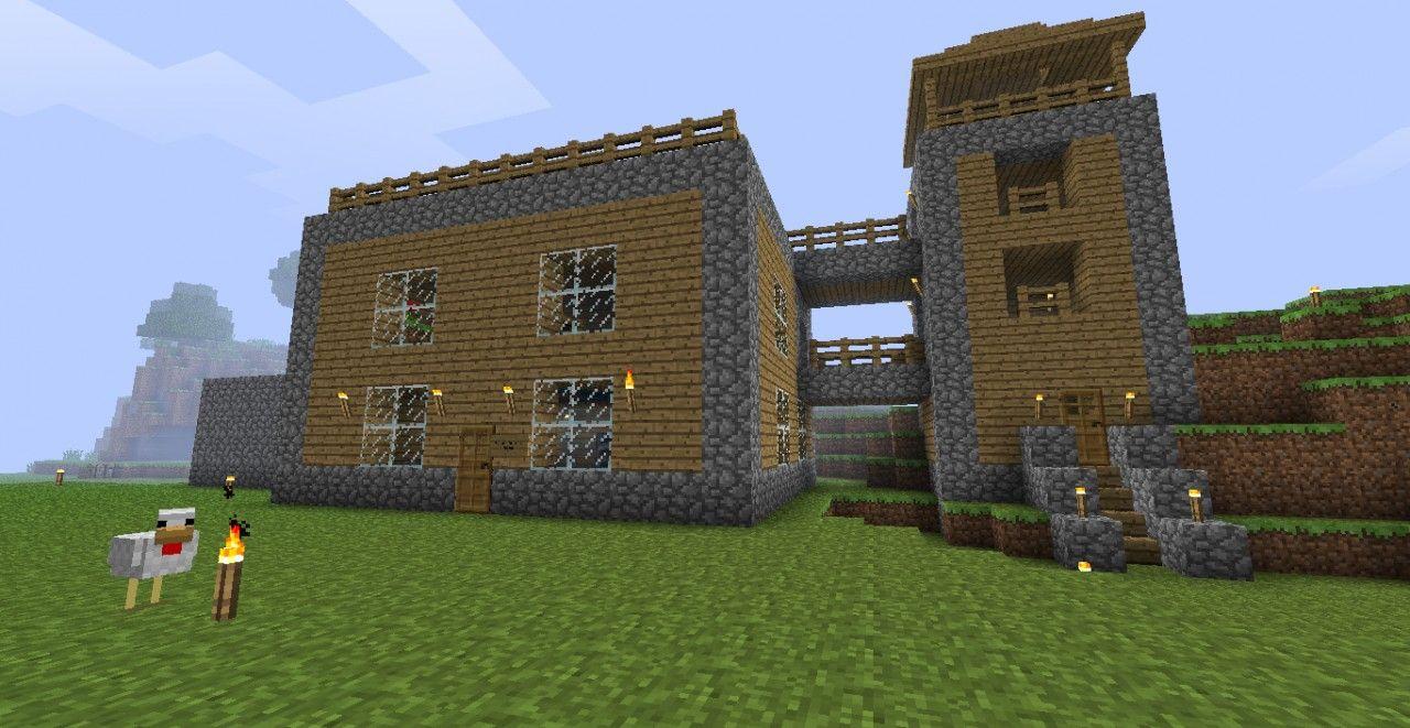 Easy Minecraft House Ideas