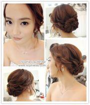 wedding hair korean - google keres