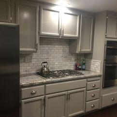 Gray Kitchen Backsplash Design Your Monte Cristo Granite Marble Tiles And Grey