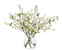 Dogwood Branch (WF853): Dogwood Branch, White, Glass ...