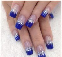 Ice Blue | Nail Art | Pinterest | Prom nails, Manicure and ...
