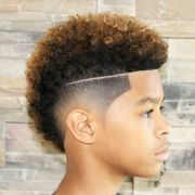 cool haircuts boys with curly
