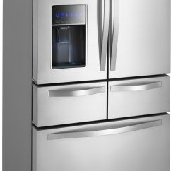 Refrigerator For Small Kitchen Melamine Cabinets Best 25 43 Double Door Ideas On Pinterest