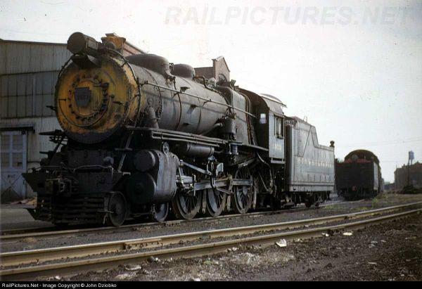Pennsylvania Railroad Steam Locomotive Truck - Year of Clean