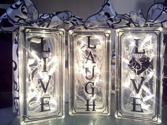 Die besten 25 Glasbausteine Ideen auf Pinterest  Glasblock Handwerk beleuchtete Glasbausteine