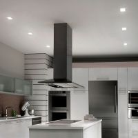 "Kitchen with WAC Lighting HR-LED451TL 4"" Square LED ..."