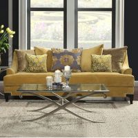 Modern mustard yellow couch. Beautiful modern couch for ...