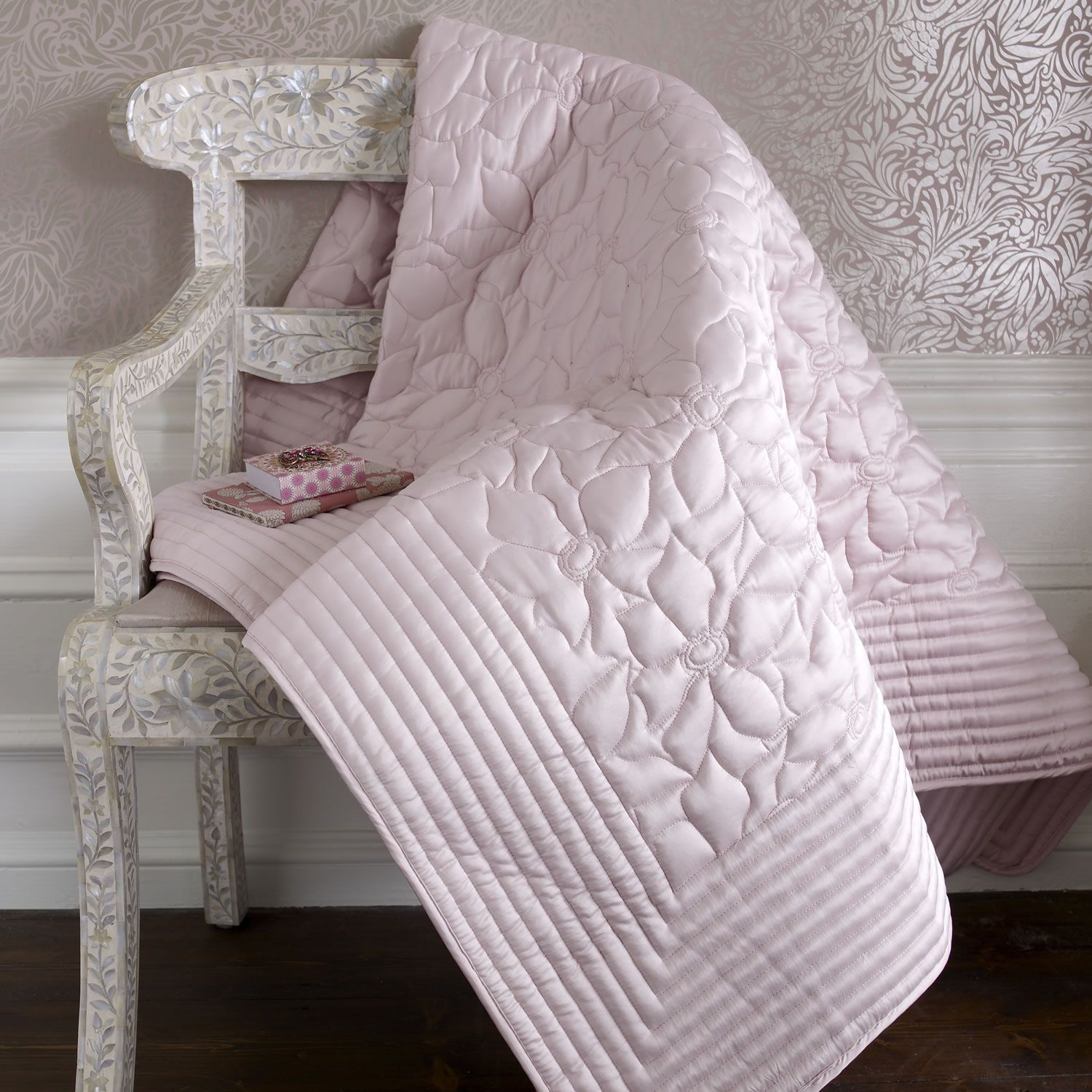 Dusky pink throw httpwwwworldstorescoukpMonsoon