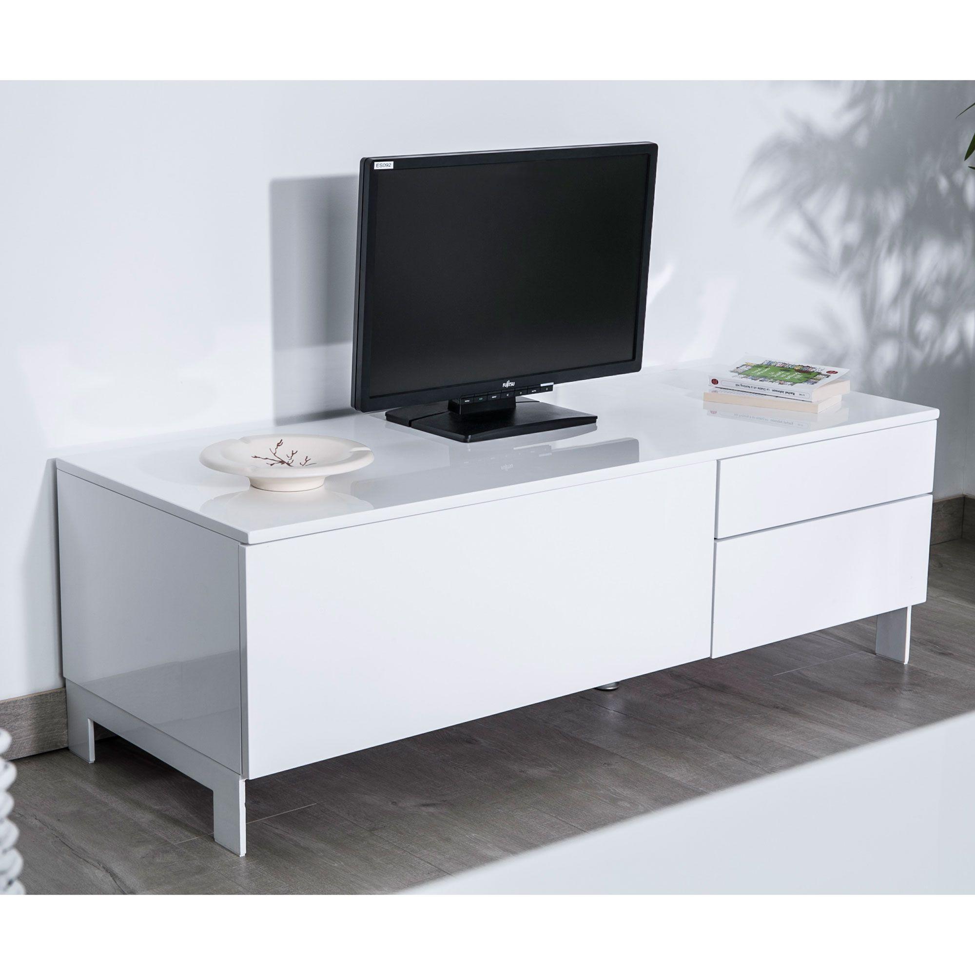 Meuble Tv 90 Cm Gris