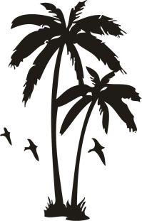 Palm Tree And Sunset Tattoo Designs Palm tree tattoos ...
