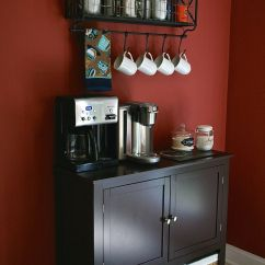 Coffee Bar In Kitchen Delta Faucet Parts Diagram Home Decor Small Cafe Design