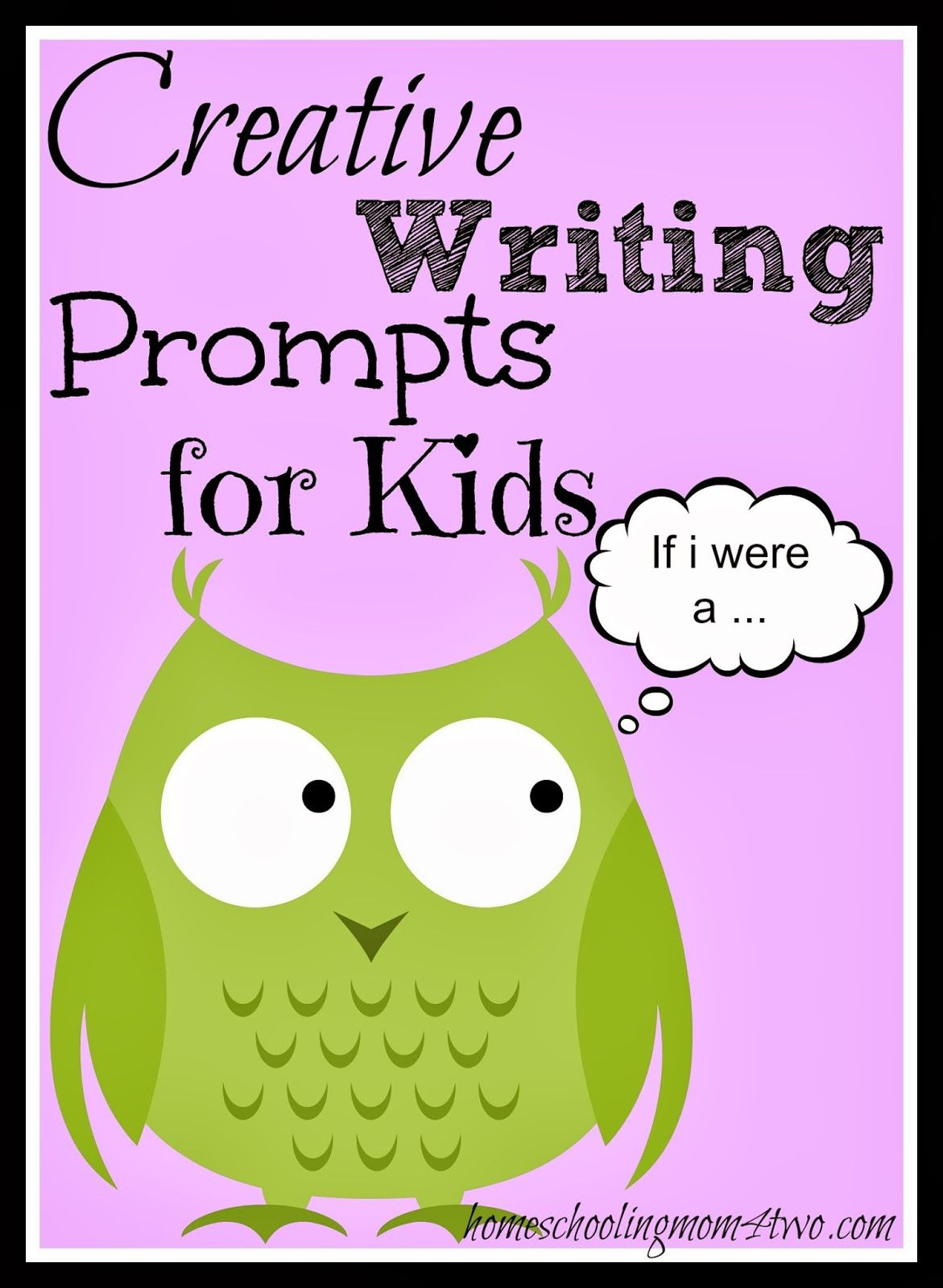Creative Writing Journal Prompts For Kids