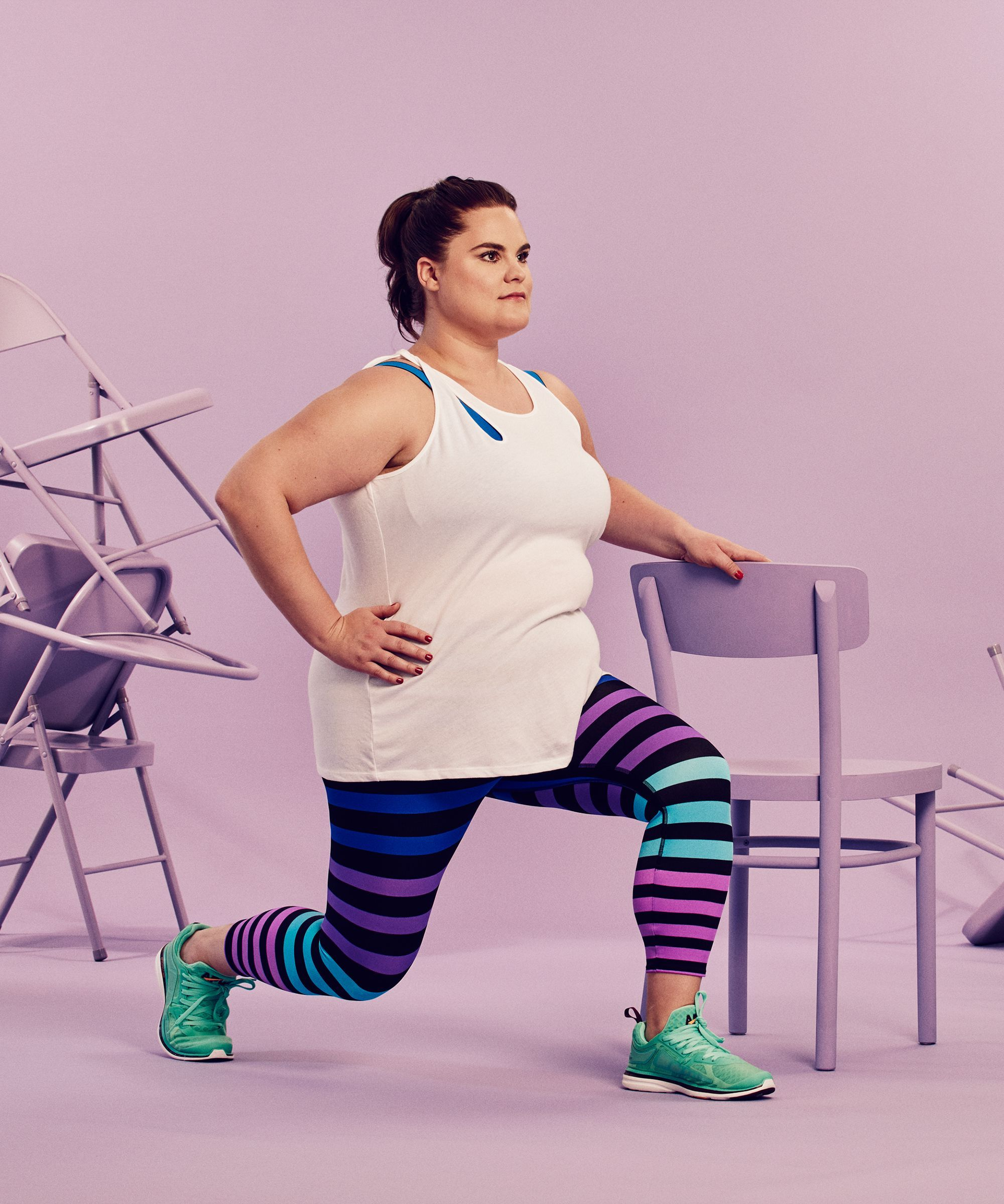 chair gym workout videos saddle benefits the full body 30 day challenge you can do at home