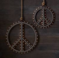 Peace Sign Decorating Ideas Delectable Wall Decorwonderful ...