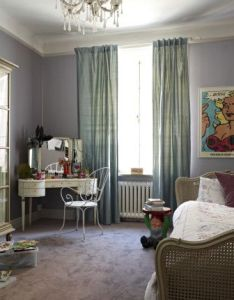 Interior design gorgeous gray paint with undertones mid century glass framed closet and antique also rh pinterest