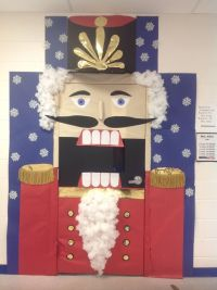 Nutcracker classroom door decor for Christmas   Music ...