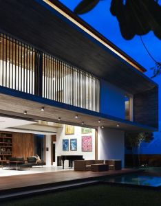 Architects also gallery of  house ong  pte ltd night and rh pinterest