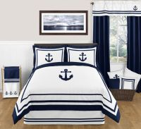 Nautical Anchor Full/Queen Bedding