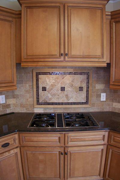 pinterest kitchen backsplash ideas backsplash cooktop - Google Search | Kitchen | Pinterest | Best Countertop, Kitchens and Kitchen