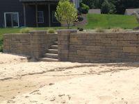 Retaining wall on lakefront property #pinmydreambackyard ...