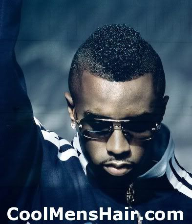 Men's Hair & Style The Puffy Sean John Combs Mohawk Cutting