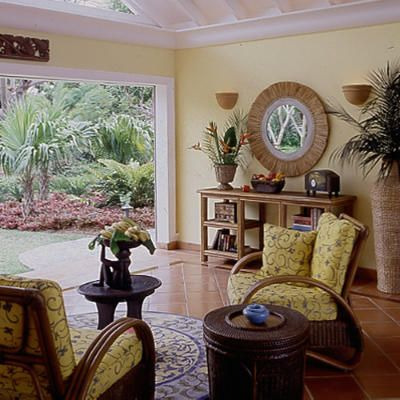 Island Style  West indies style Natural building and West indies
