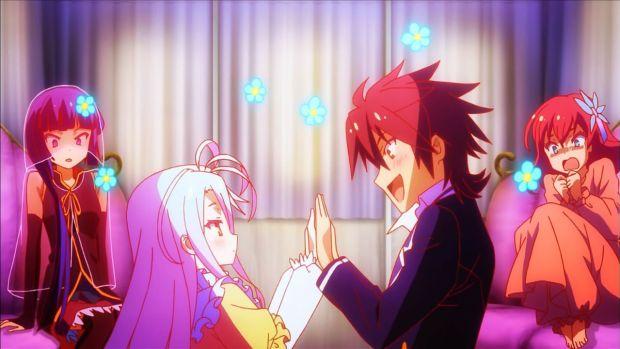 No Game No Life anime review sora and shiro