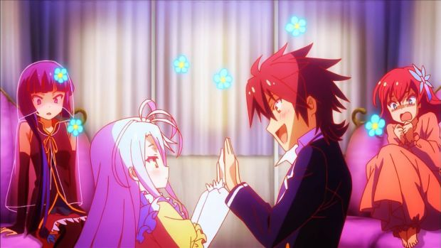 No Game No Life anime review sora and shiro