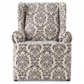 surefit tm chelsea non stretch wing chair cover sears
