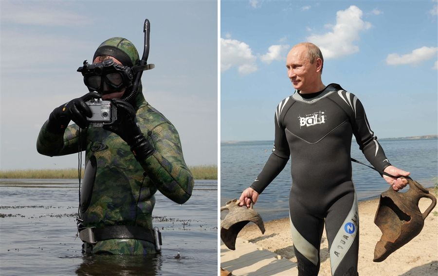 Image result for PUTIN HOLIDAY