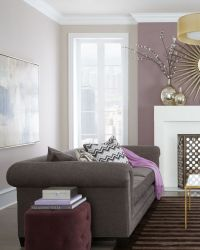 Purple living room | Living rooms | Pinterest | Cream ...