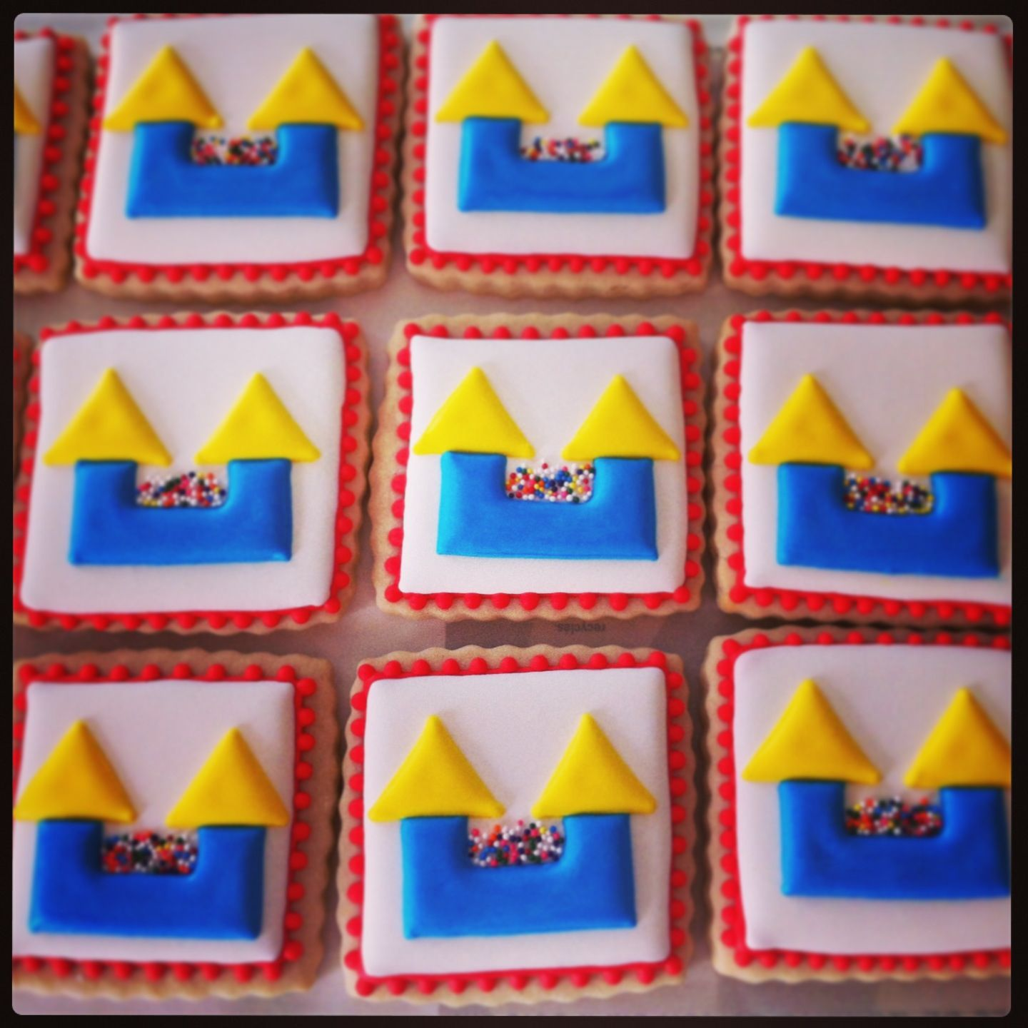 Bounce House Cookies By Tiffany Cookies By Tiffany Pinterest