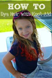 dye hair with koolaid mix