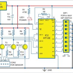Liquid Level Controller Circuit Diagram Ammeter Gauge Wiring Wireless Water Indicator Without Microcontroller