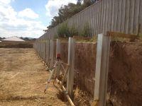 metal retaining walls | steel post retaining walls steel ...