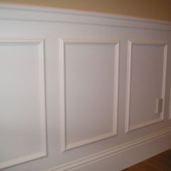 Where To Nail Chair Rail Covers Galway A Simple Way Create Raised Panel Look In Your Room
