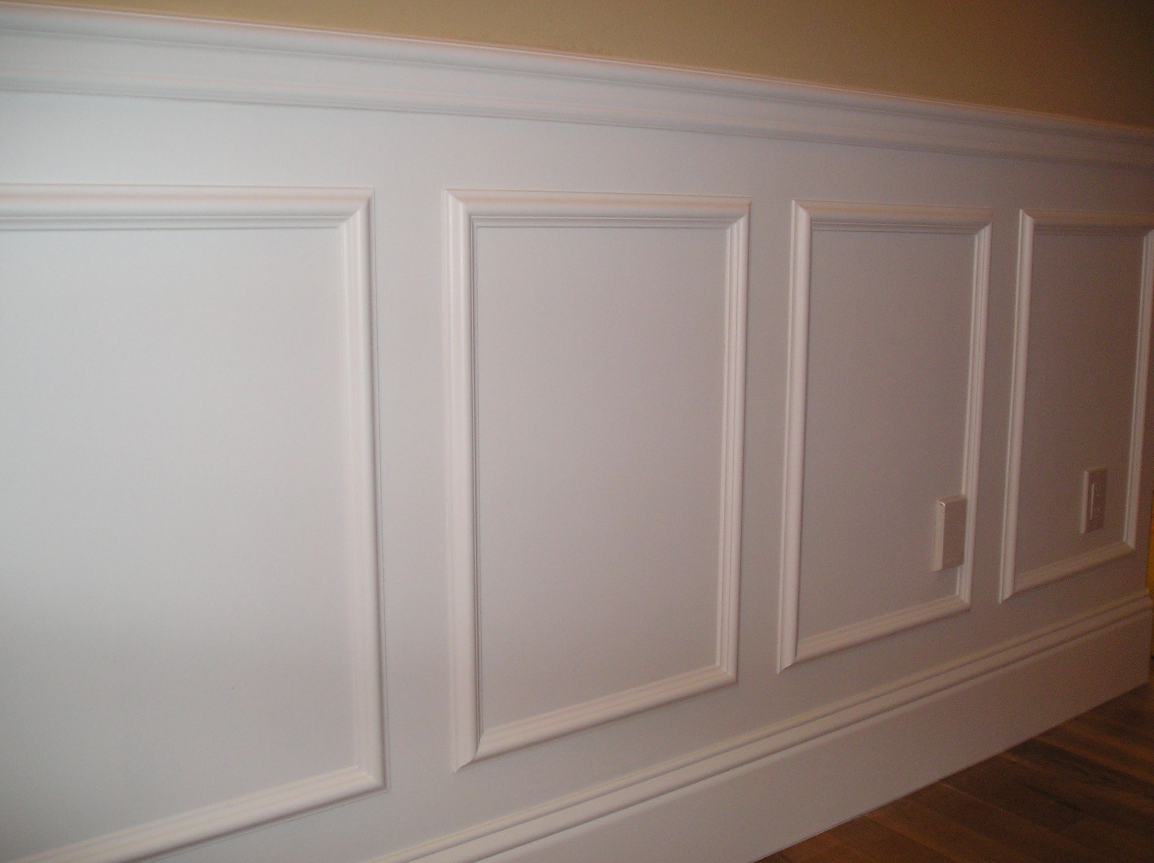 Chair Rail Designs A Simple Way To Create A Raised Panel Look In Your Room